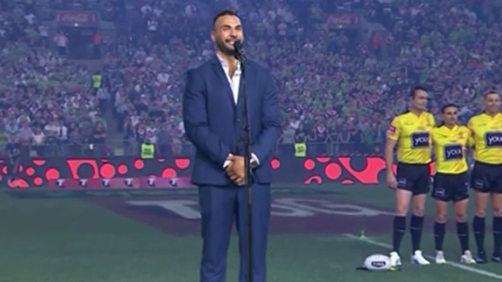 Indigenous star Ryan James backs no anthem call ahead of 2020 All Stars match