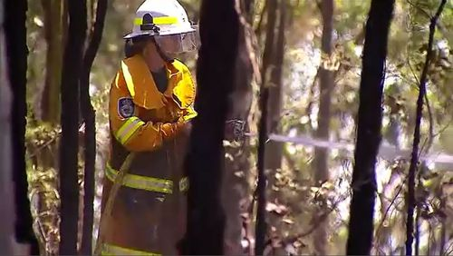 Fire authorities are urging residents to prepare themselves in NSW as temperatures soar again into the high 30s.