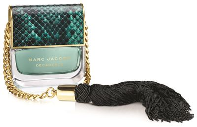 "<a href=""http://www.myer.com.au/shop/mystore/marc-jacobs-decadence-edp"" target=""_blank"">Marc Jacobs Divine Decadence EDP (50ml), $150.</a>"