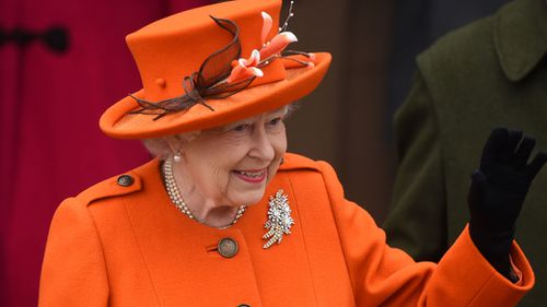 The Queen looked in good health as she attend the Christmas service. (Joe Giddens/PA Wire)
