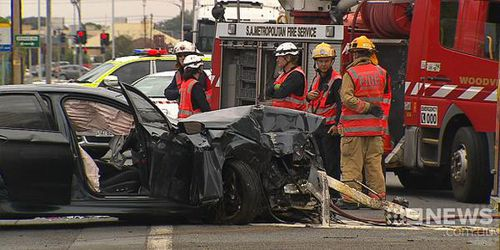 Girl, 8, dies after car crashes into power pole in Adelaide