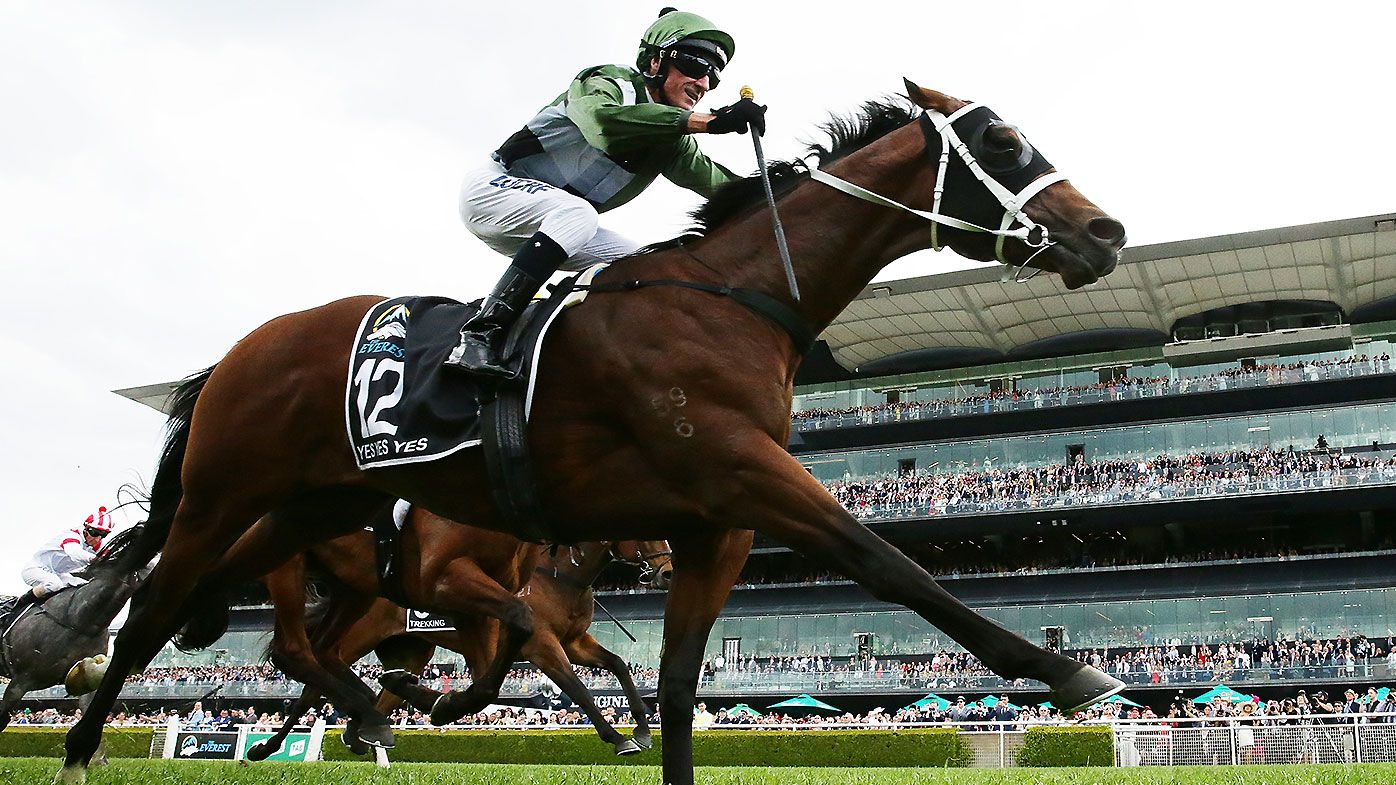 Three-year-old Yes Yes Yes upstages older rivals to take out $14 million Everest