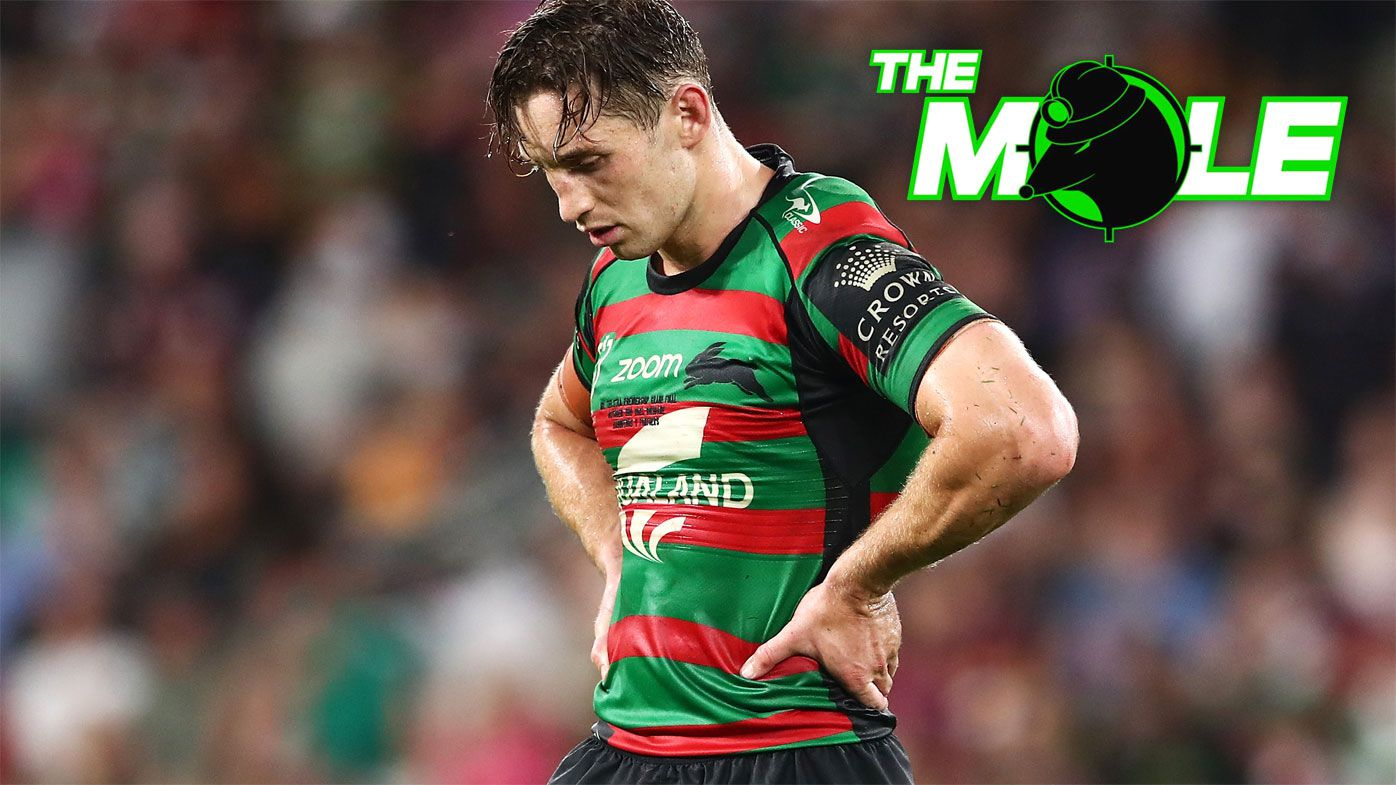 A dejected Cameron Murray after the Rabbitohs lost the grand final.