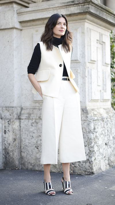 <p>Culottes<br />A polished alternative to denim, culottes will fast become your winter workwear staple.</p>