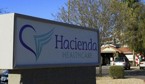 Two doctors from the Hacienda HealthCare facility have left after an incapacitated patient gave birth. (AP)