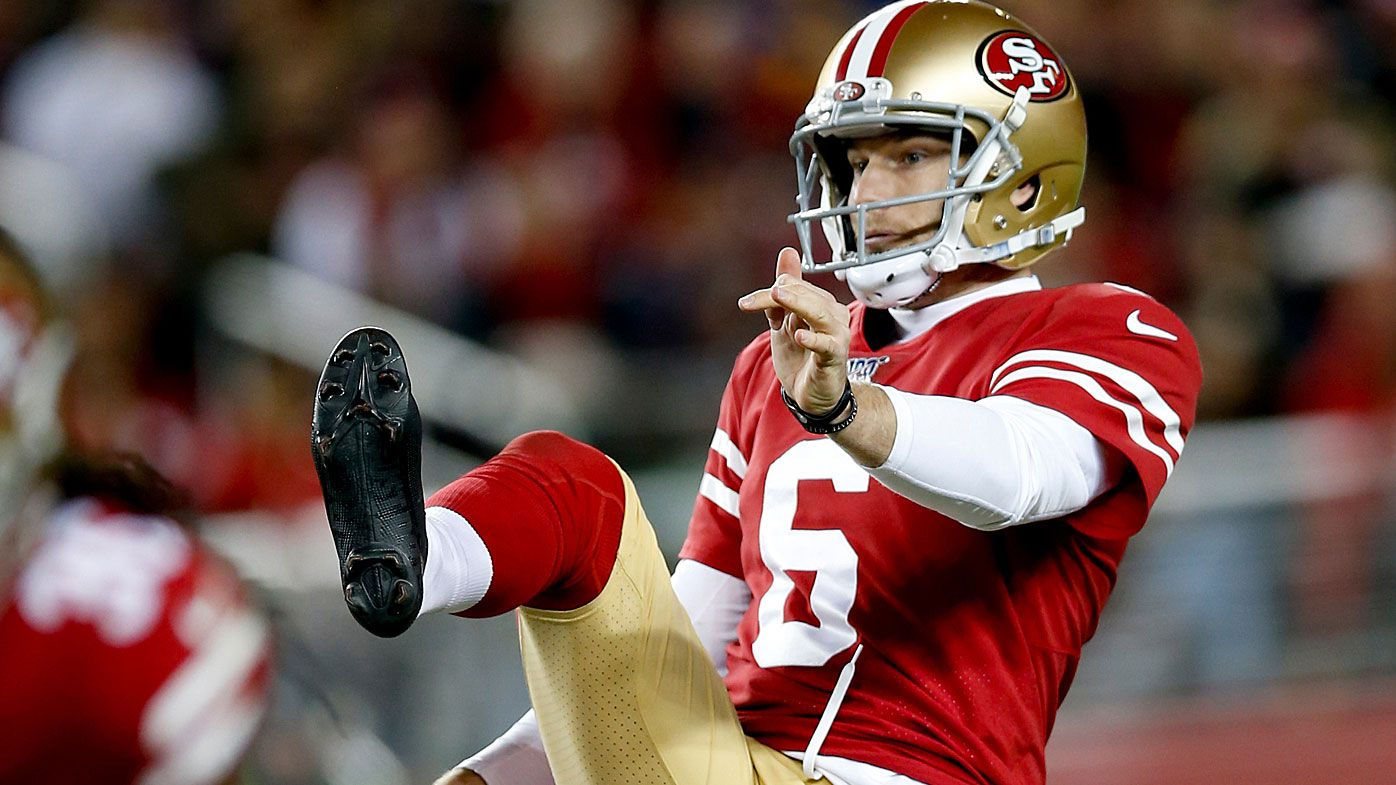 Mitch Wishnowsky is off to Super Bowl LIV with the San Francisco 49ers