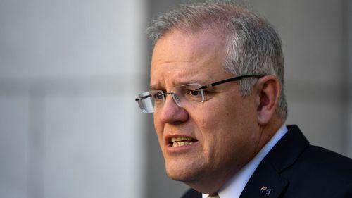 Prime Minister Scott Morrison addresses the coronavirus outbreak.