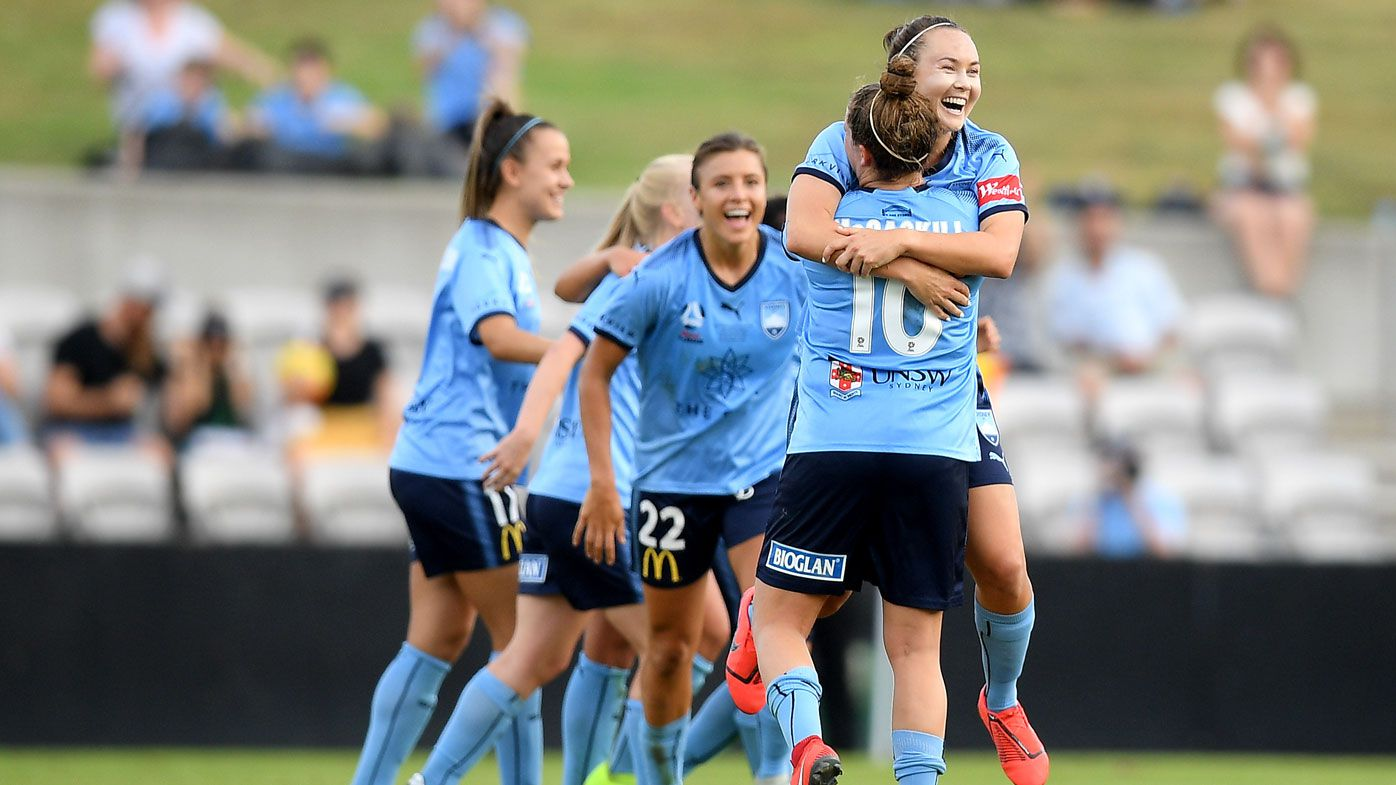 McCaskill stars as Sydney FC claim W-League title in goalfest