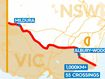 Victorians shut out by 1000km NSW border