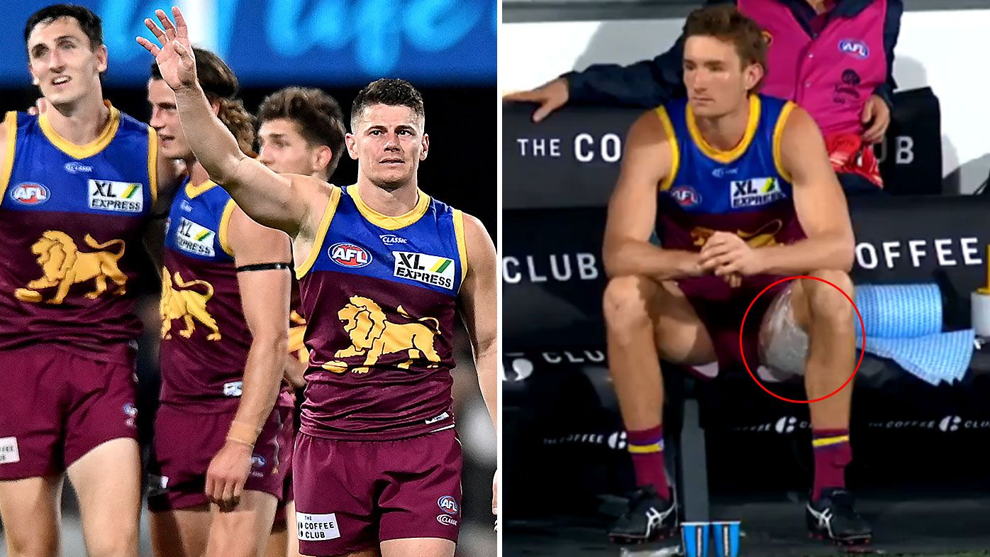 Harris Andrews hamstrung as Brisbane Lions prevail in fiesty contest against Collingwood