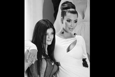 The <b>Kardashian</b> family wish you a joyous festive season - hope Santa brings you plenty of Botox injections!