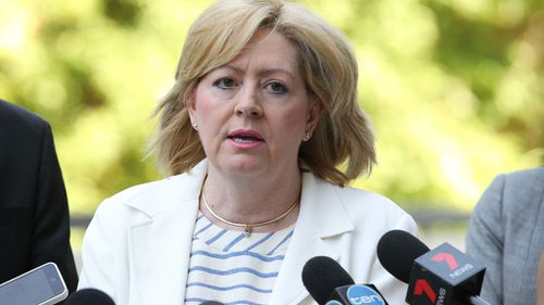 Lisa Scaffidi stood aside from her duties pending the outcome of the appeal. (AAP)