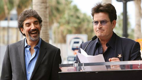 Charlie Sheen responds to Men creator's dig