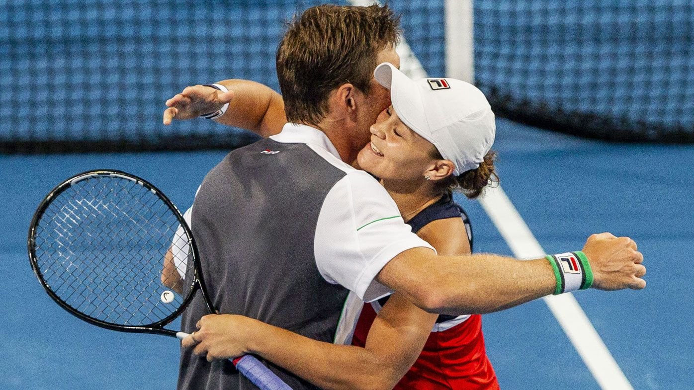 Hopman Cup day five: Barty humbles Muguruza, Australia beat Spain in doubles decider