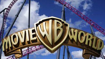 Movie World rollercoaster