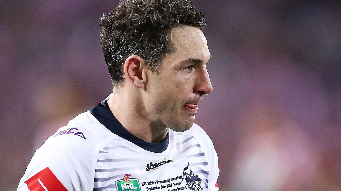 Billy Slater backs calls for NRL to go back to one referee amid financial crisis