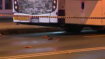 The driver of the bus was taken to hospital for mandatory testing, and was later released.