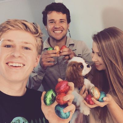 Robert Irwin, Chandler Powell and Bindi Irwin