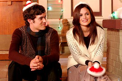 """Orange County nerd Seth (Adam Brody) had a Christian mum and a Jewish dad. What to when the holidays roll around? Why, merge Christmas and Hanukkah into one holiday called """"Chrismukkah"""", of course! Seth and his family first celebrate the occasion in the episode 'The Best Chrismukkah Ever', while later seasons reveal that the holiday's traditional get-up includes the """"yarmuclaus"""" — a Santa-themed yarmulke."""