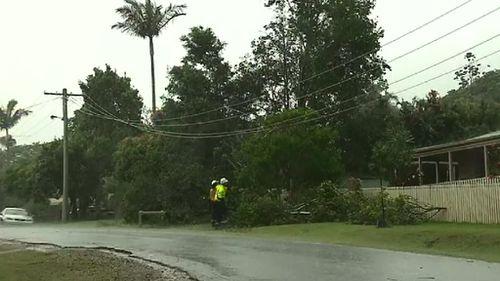 Storm damage in Pomona. (9NEWS)