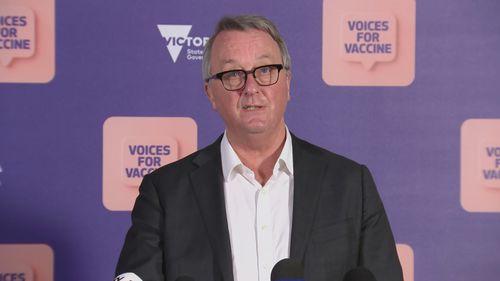 Victoria Health Minister Martin Foley.