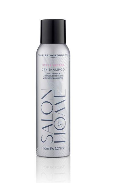 "<a href=""http://www.charlesworthington.com/"" target=""_blank"">Style Setter Dry Shampoo, $5.99, Charles Worthington</a>"