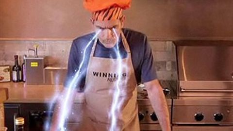 Charlie Sheen's cooking show