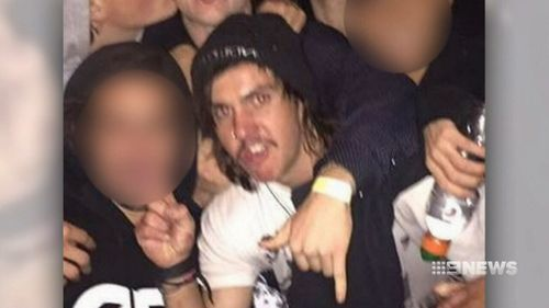 The 22-year-old was allegedly high on ice when he drove down the Mornington Peninsula Freeway at more than 170km/h without headlights. Picture: 9NEWS