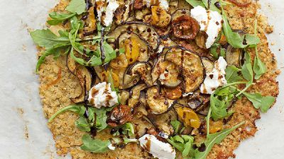 Jess Sepel's healthy cauliflower pizza from JS Health