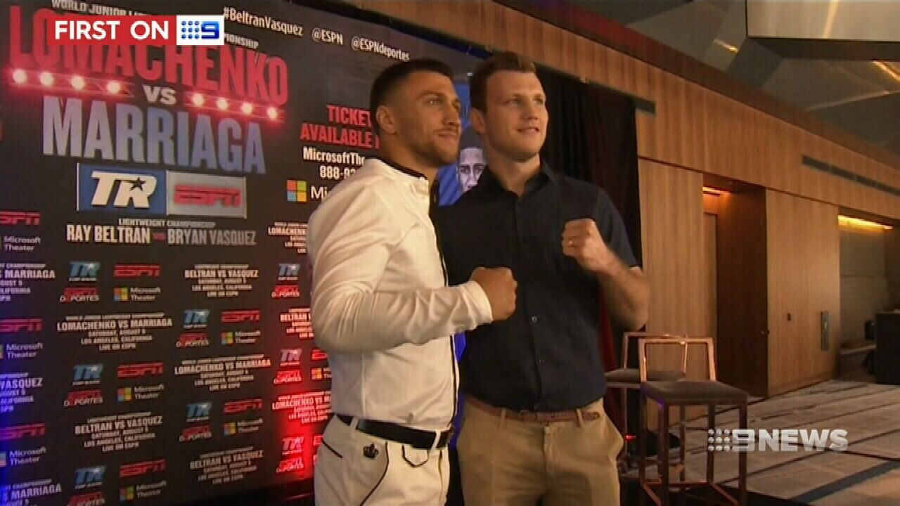 Jeff Horn rubs shoulders with stars at ESPY awards