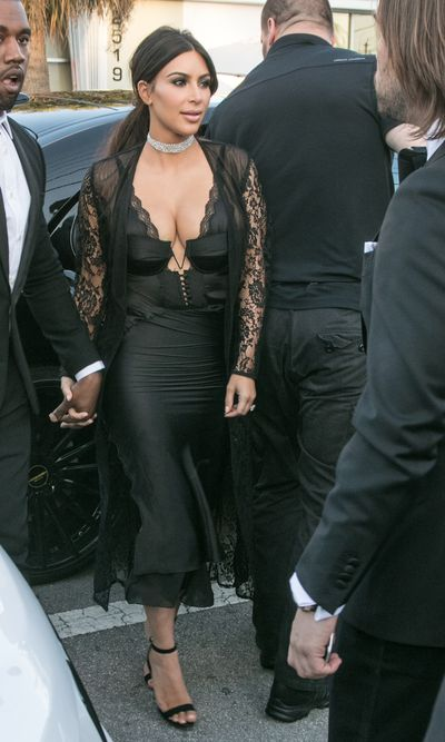 Reality TV star and beauty mogul, Kim Kardashian-West