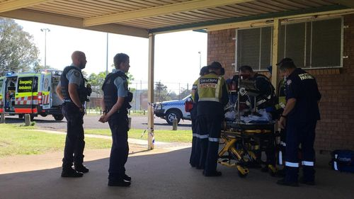 Kurrajong playground accident