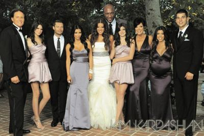 Here's what the Kardashian Klan looked like the Christmas before.