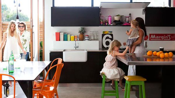 Cool kitchens & bathrooms