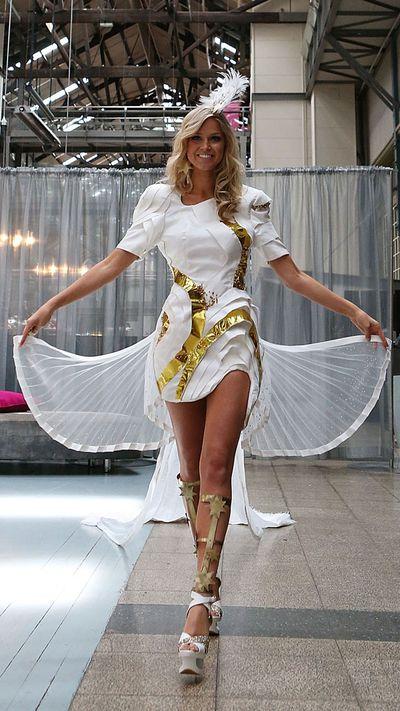 Miss Universe Australia costume: 2012