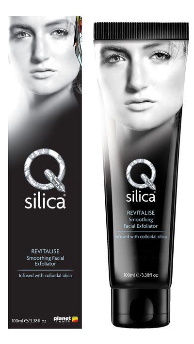 "<a href=""http://www.qsilica.com.au/product/18/Smoothing+Facial+Exfoliator#.VZNf7E1Eh9B"" target=""_blank"">Revitalise Smoothing Facial Exfoliator, $24.95, Q Silica</a>"