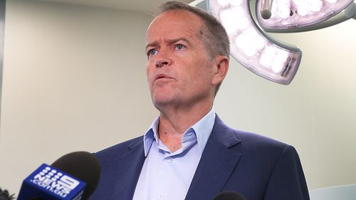 Opposition leader Bill Shorten today announced a plan to cap price hikes of private health insurance at 2% for the first two years of a government he leads (AAP).