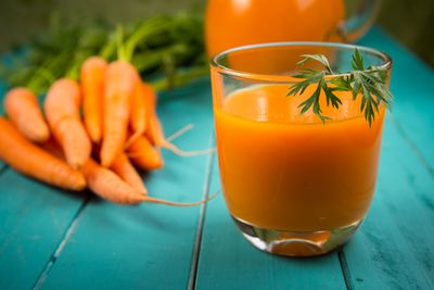 <strong>Carrot juice</strong>