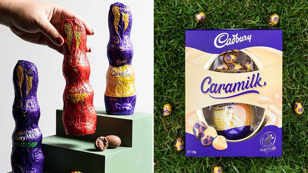 Cadbury just dropped an entire Caramilk Easter range
