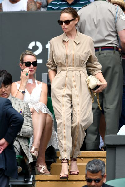 Designer Stella McCartney at Wimbledon 2018