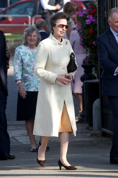 Princess Anne was among the other members of the Royal family who attended the flower show (AAP)