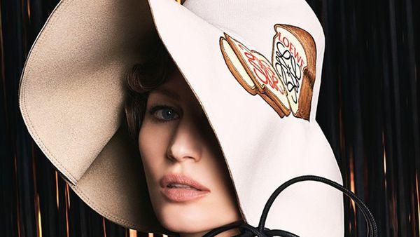 Gisele Bundchen for Loewe. Image: Loewe/Steven Meisel