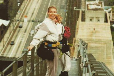 """@heidiklum: """"Will be doing this again too!!!!! <br/>Harbour bridge ,Sydney 1999"""""""