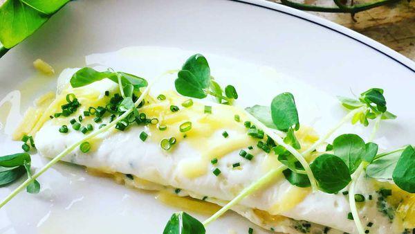 Hotel Centennial's egg white omelette