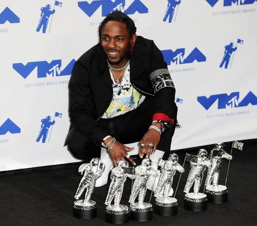 Kendrick Lamar. (AAP)