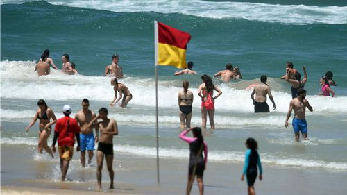 Don't pack your swimmers away just yet - summer-like conditions are making a comeback. (AAP)