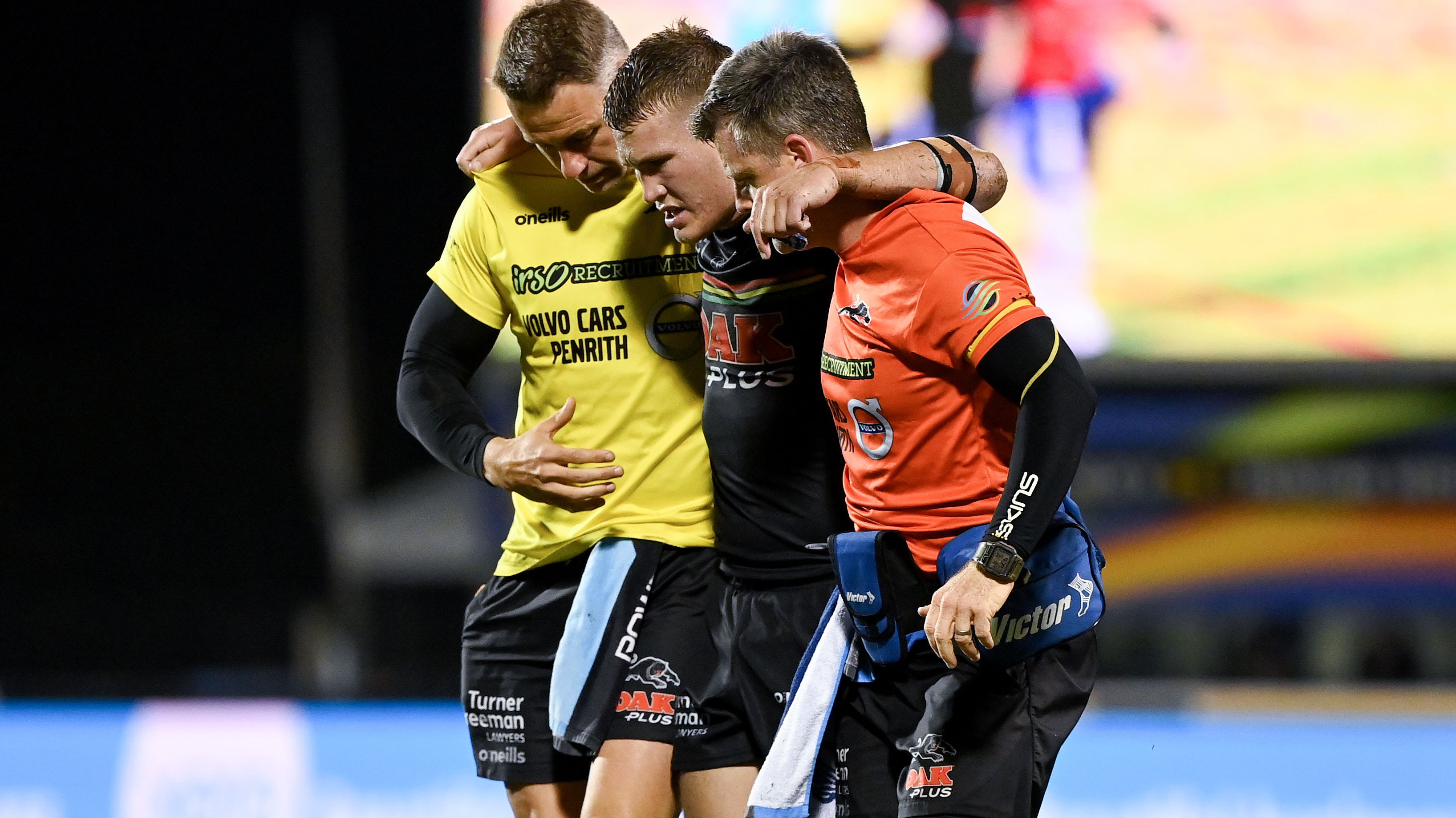 Panthers cop big penalty for dodgy stoppage