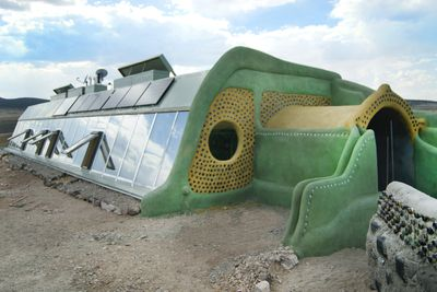 <strong>Earthship, New Mexico</strong>