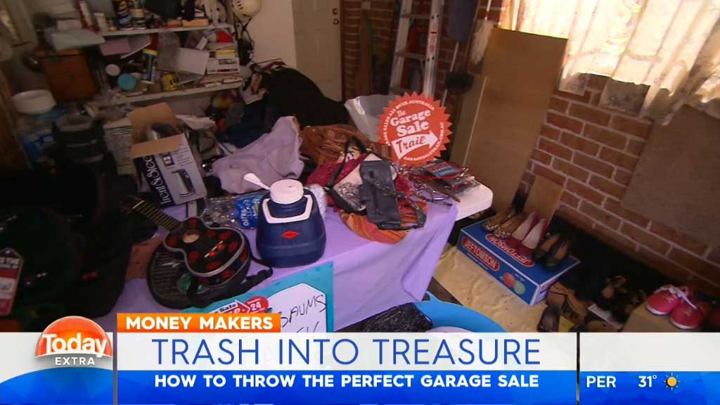 TODAY EXTRA: Australia's biggest garage sale gets glam