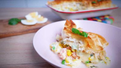 A bowl of classic fish pie is a creamy comfort